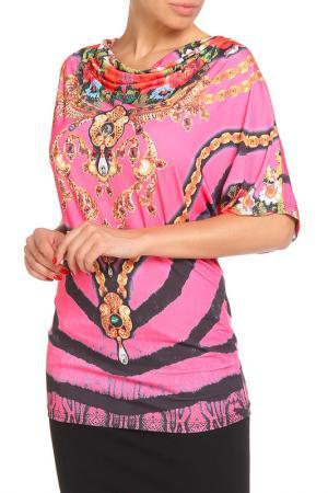 Блузка Dolce Vita. Цвет: розовый