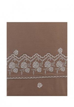 Комплект постельного белья Sofi De Marko. Цвет: коричневый