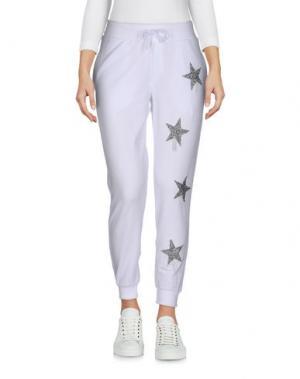 Повседневные брюки ODI ET AMO. Цвет: белый