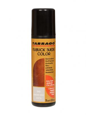 Краситель для замши и нубука, NUBUCK COLOR, флакон, 75мл. (40 кость) Tarrago. Цвет: серый меланж