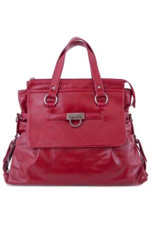 Сумка Vera bags. Цвет: красный