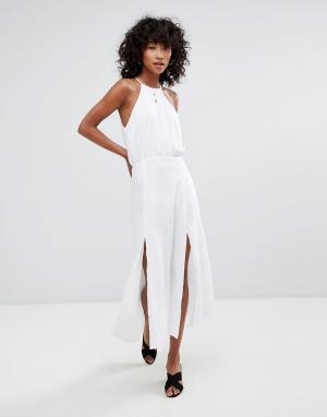 D.RA Платье макси Marceline. Цвет: белый