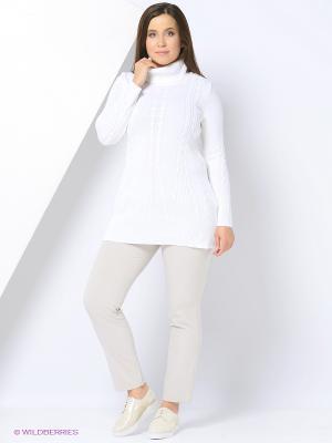 Туника Milana Style. Цвет: белый