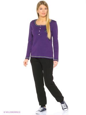 Лонгслив D.S. Цвет: фиолетовый