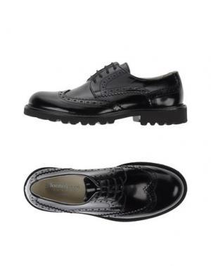Обувь на шнурках MONTELPARE TRADITION. Цвет: черный