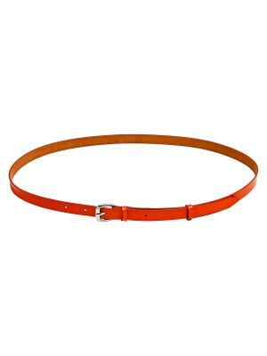 Пояс Kameo-bis. Цвет: оранжевый, серебристый