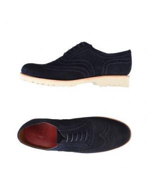 Обувь на шнурках GRENSON. Цвет: темно-синий