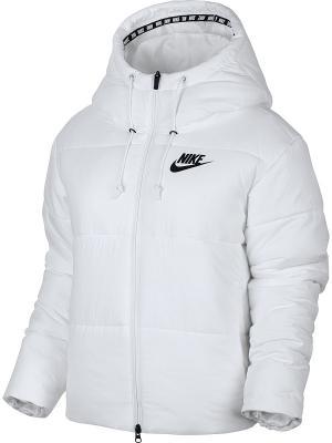Куртка W NSW SYN FILL JKT HD Nike. Цвет: белый