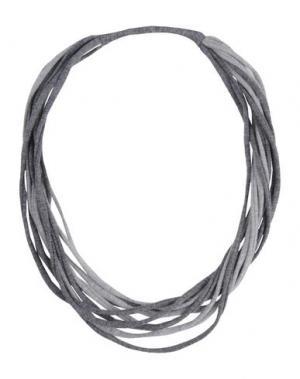 Ожерелье SPECIAL DAY. Цвет: серый