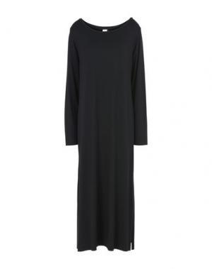 Платье длиной 3/4 DANIELA PANCHERI. Цвет: черный