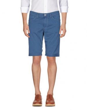 Повседневные брюки NERO GIARDINI. Цвет: грифельно-синий