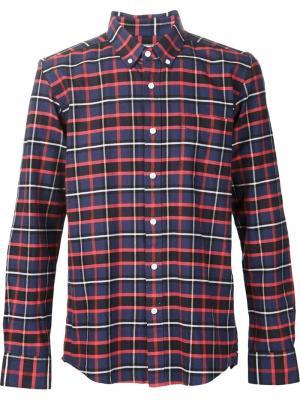 Рубашка Crosby Oxford Saturdays Surf Nyc. Цвет: синий