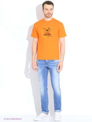Футболка мужская Мы не воюем. побеждаем! оранжевая (10шт/уп) Экспедиция. Цвет: оранжевый