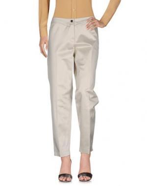 Повседневные брюки LAURÈL. Цвет: слоновая кость