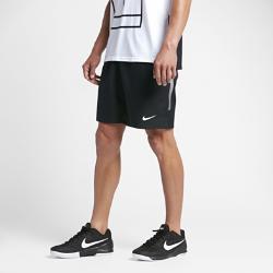 Мужские теннисные шорты Court Dri-FIT 23 см Nike. Цвет: черный