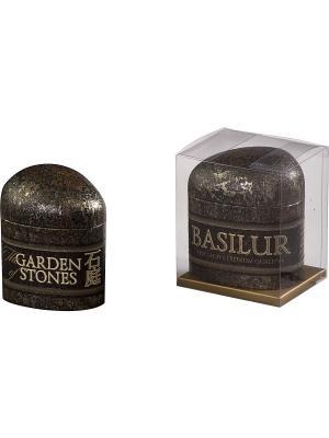 Чай Basilur САД КАМНЕЙ малый  Сенча/Sencha. Цвет: черный