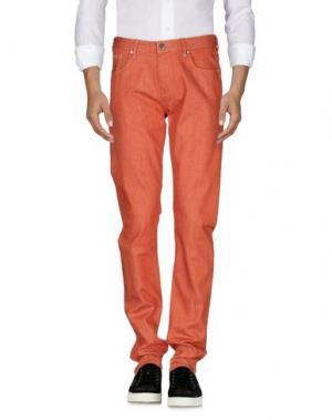 Джинсовые брюки ARMANI JEANS. Цвет: ржаво-коричневый