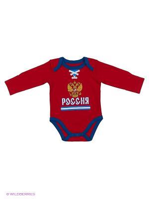 Боди Россия Atributika & Club. Цвет: красный