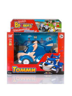 Игрушка Врумиз машинка со звуковыми и световыми эффектами Томми. Цвет: синий