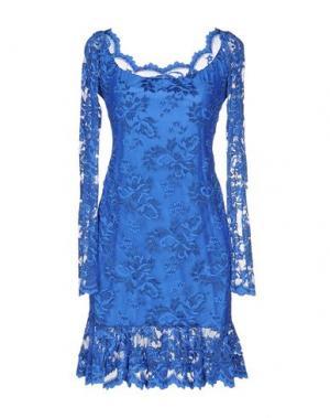 Короткое платье BALENSI. Цвет: синий