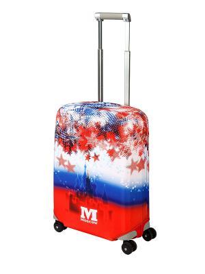 Чехол для чемодана Moscow S Coverway. Цвет: красный