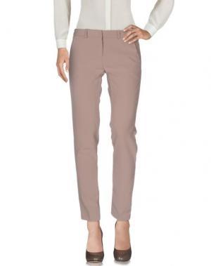 Повседневные брюки TO-MAY. Цвет: бежевый