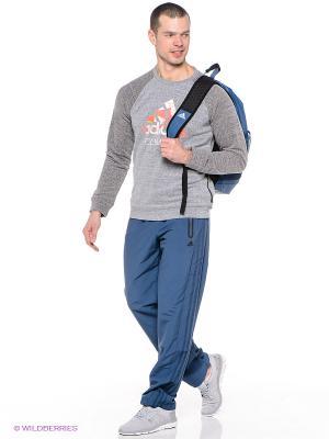 Брюки REG FUNCTION1.0 Adidas. Цвет: серо-голубой