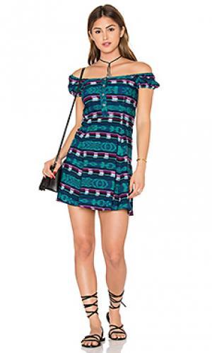 Платье valdez STELA 9. Цвет: зеленый