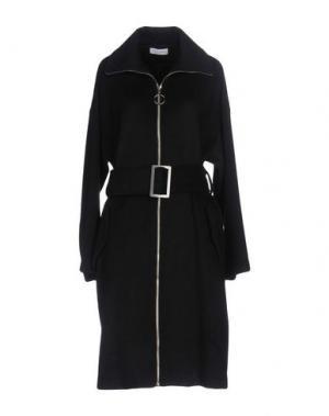 Пальто WEILI ZHENG. Цвет: черный