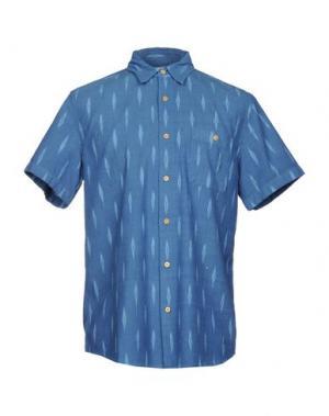 Pубашка FAHERTY. Цвет: синий