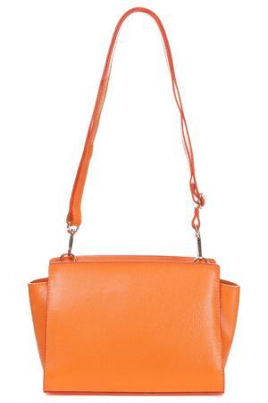 Сумка Joana&paola. Цвет: оранжевый