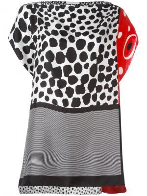 Multi-print blouse Pierre-Louis Mascia. Цвет: многоцветный