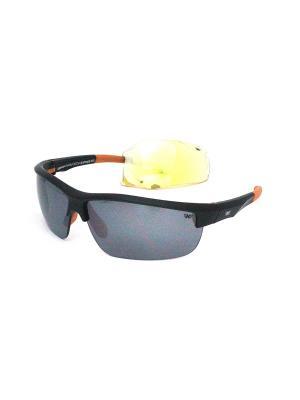 Cолнцезащитные очки Exenza. Цвет: черный, оранжевый