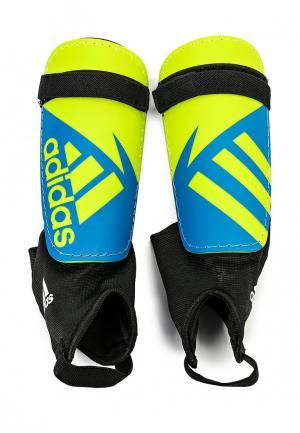 Щитки adidas Performance. Цвет: разноцветный