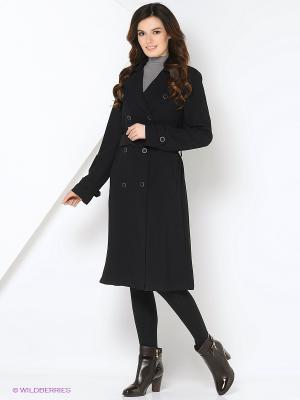Пальто Oltre. Цвет: черный