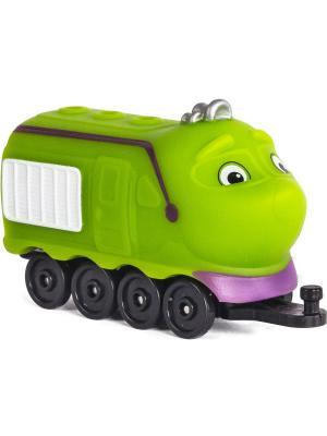 Chuggington паровозик Коко. Цвет: салатовый