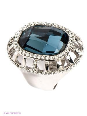 Кольцо Bijoux Land. Цвет: серебристый, синий