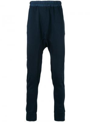 Спортивные брюки Yekeo Les Benjamins. Цвет: синий