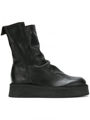 Ботинки на утолщенной подошве Cinzia Araia. Цвет: чёрный