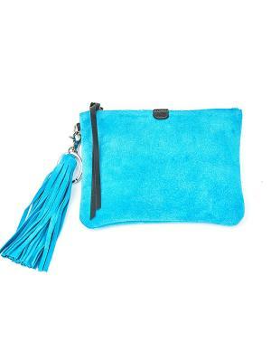 Клатч MARI'S BAG. Цвет: лазурный