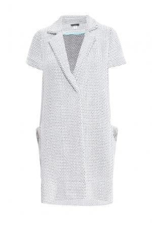 Летнее пальто из шерсти с хлопком 160320 Msw Atelier. Цвет: серый