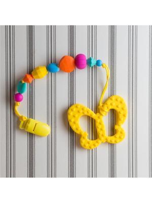 Игрушки-подвески Краски лета. Цвет: синий, желтый, оранжевый