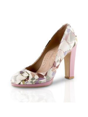 Туфли ALLORA. Цвет: розовый