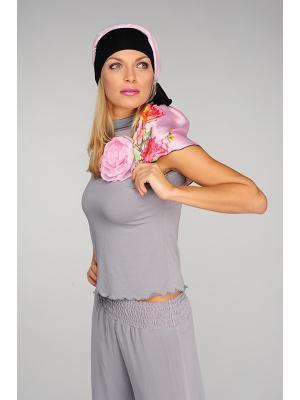 Бандана Lak Miss. Цвет: розовый, черный