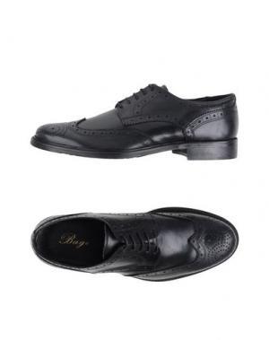 Обувь на шнурках BAGE. Цвет: синий