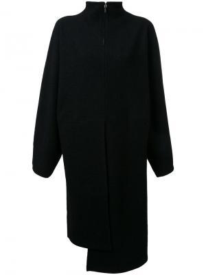 Свободное платье на молнии Nehera. Цвет: чёрный