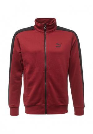 Олимпийка PUMA. Цвет: бордовый