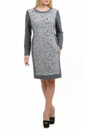 Платье Сьюзи LESYA. Цвет: мультицвет