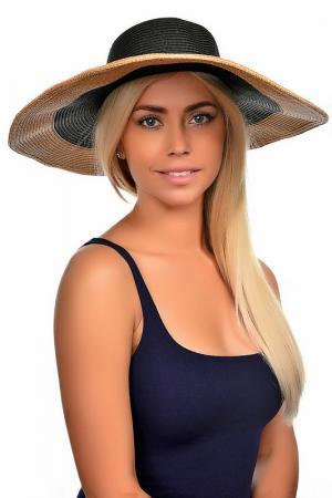 Шляпа Tonak. Цвет: черный, золотой