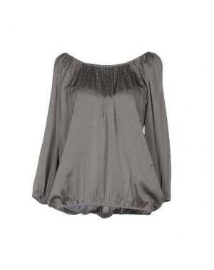 Блузка REPEAT. Цвет: серый